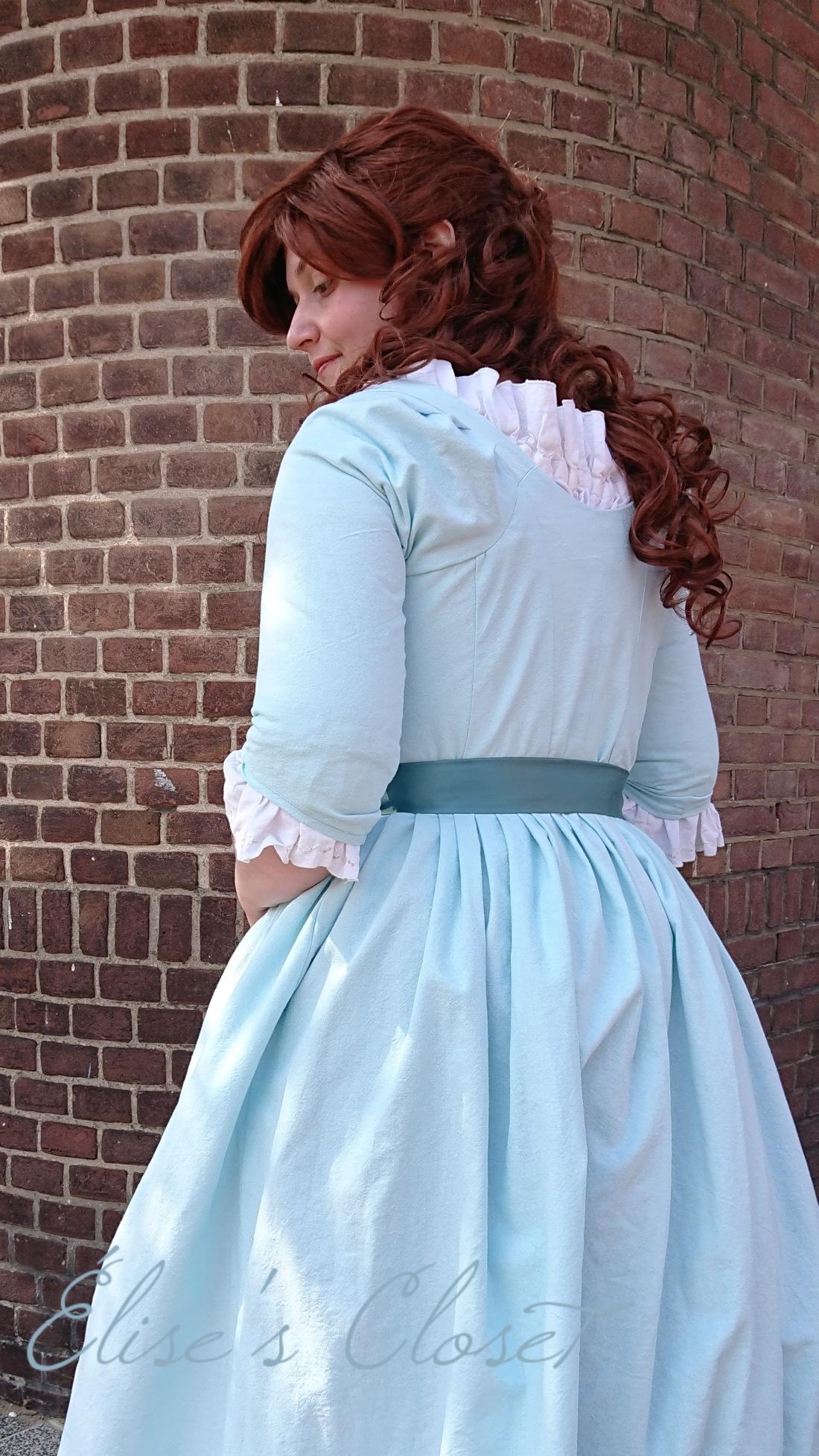 The Blue Linen Dress Elise S Closet